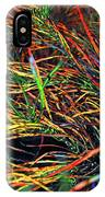 Needles Of Color IPhone Case