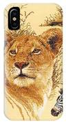 Needlework - African Animals IPhone Case