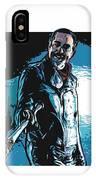 Negan IPhone Case by Antonio Romero