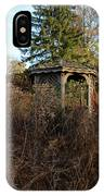 Neglected Old Gazebo IPhone Case