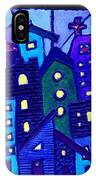 Neighborhood Blues IPhone Case
