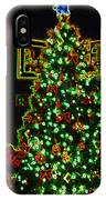 Neon Christmas Tree IPhone Case