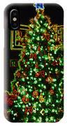 Neon Christmas Tree IPhone Case