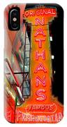 Neon Nathans IPhone Case