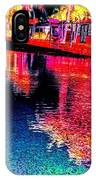 Neon Streets IPhone Case