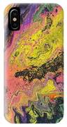 Neon Swirl IPhone Case