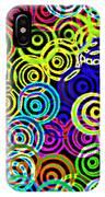 Neon Swirls IPhone Case
