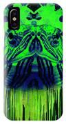 Neon Turtle IPhone Case