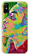 Neon Vibes Painting IPhone Case