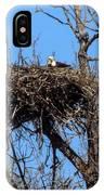 Nesting Bald Eagle IPhone Case
