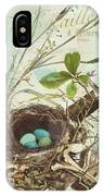 Nesting I IPhone X Case