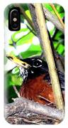 Nesting Robin IPhone Case