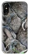 Nestled In Their Den IPhone Case