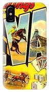 Nevada Postcard IPhone Case