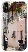 Neve Tzedek Neighborhood In Tel Aviv IPhone Case