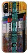 New Building Reflecting Colors IPhone Case