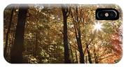 New England Autumn Forest IPhone X Case