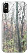 New England Forest IPhone Case