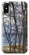 New England Massachusetts Beach  Scene IPhone Case