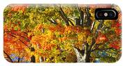 New England Sugar Maples IPhone X Case