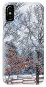 New England Winter IPhone Case