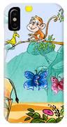 New Friends In The Jungle IPhone Case