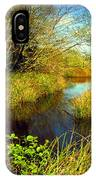 New Growth At The Pond IPhone Case