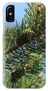 New Growth Pinecone At Chicago Botanical Gardens IPhone Case