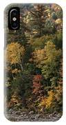 New Hampshire Color Along The Swift River IPhone Case