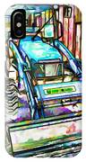 New Holland Workmaster 75 Tractor  2 IPhone Case