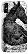 New Life - Friesian IPhone Case