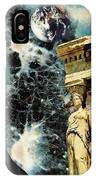 New Life In Ancient Time-space IPhone Case