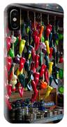New Mexico Hanging Peppers IPhone Case