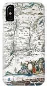 New Netherland Map IPhone Case