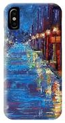 New Orleans Bourbon Street IPhone Case