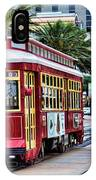 New Orleans Canal Streetcars  IPhone Case
