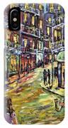 New Orleans Jazz Night By Prankearts Fine Art IPhone Case