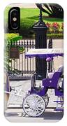 New Orleans Royal Carriage IPhone Case