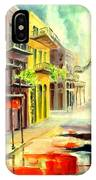 New Orleans Summer Rain IPhone Case