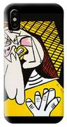New Picasso The Weeper 2 IPhone Case