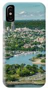 New Rochelle From The Long Island Sound IPhone Case