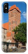 New Town Square In Torun IPhone Case