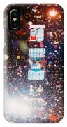 New Year Eve Time Square IPhone Case
