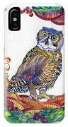 New-year Owl IPhone Case