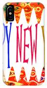 New Year's Greetings IPhone Case