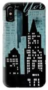 New York Art Deco IPhone Case