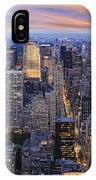 New York At Night IPhone Case