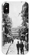 New York : Chinatown, 1909 IPhone Case