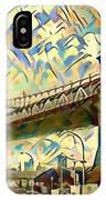 New York City - Brooklyn Bridge Watercolor IPhone Case