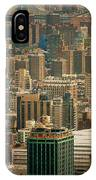 New York City Buildings And Skyline IPhone Case